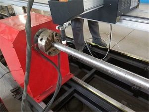 2017新しいポータブル型プラズマ金属パイプカッターマシン、CNC金属管切断機