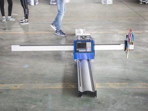 新技術ポータブル型CNCプラズマ切断機価格中小企業製造機