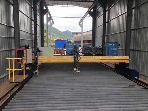 精密CNCプラズマ切断機正確な13000mmサーボモーター